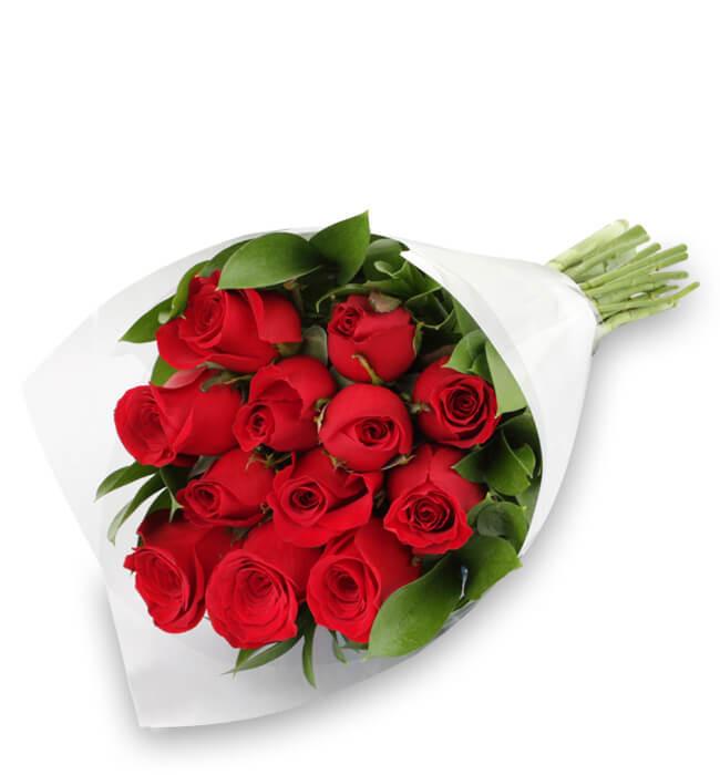 Imagen para Ramo de Amor con 12 Rosas Rojas - 1