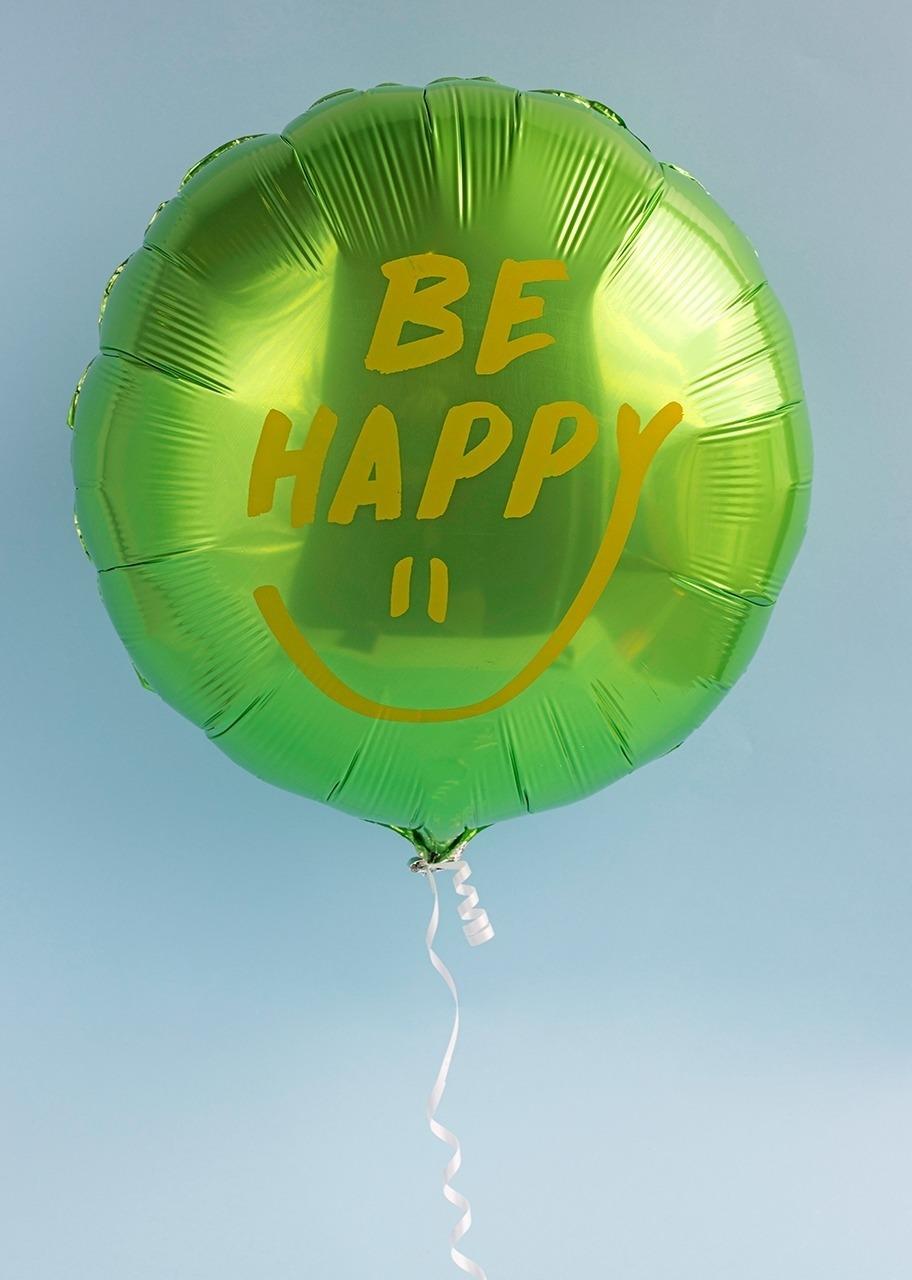 """Imagen para Globo metálico """"Be Happy"""" - 1"""