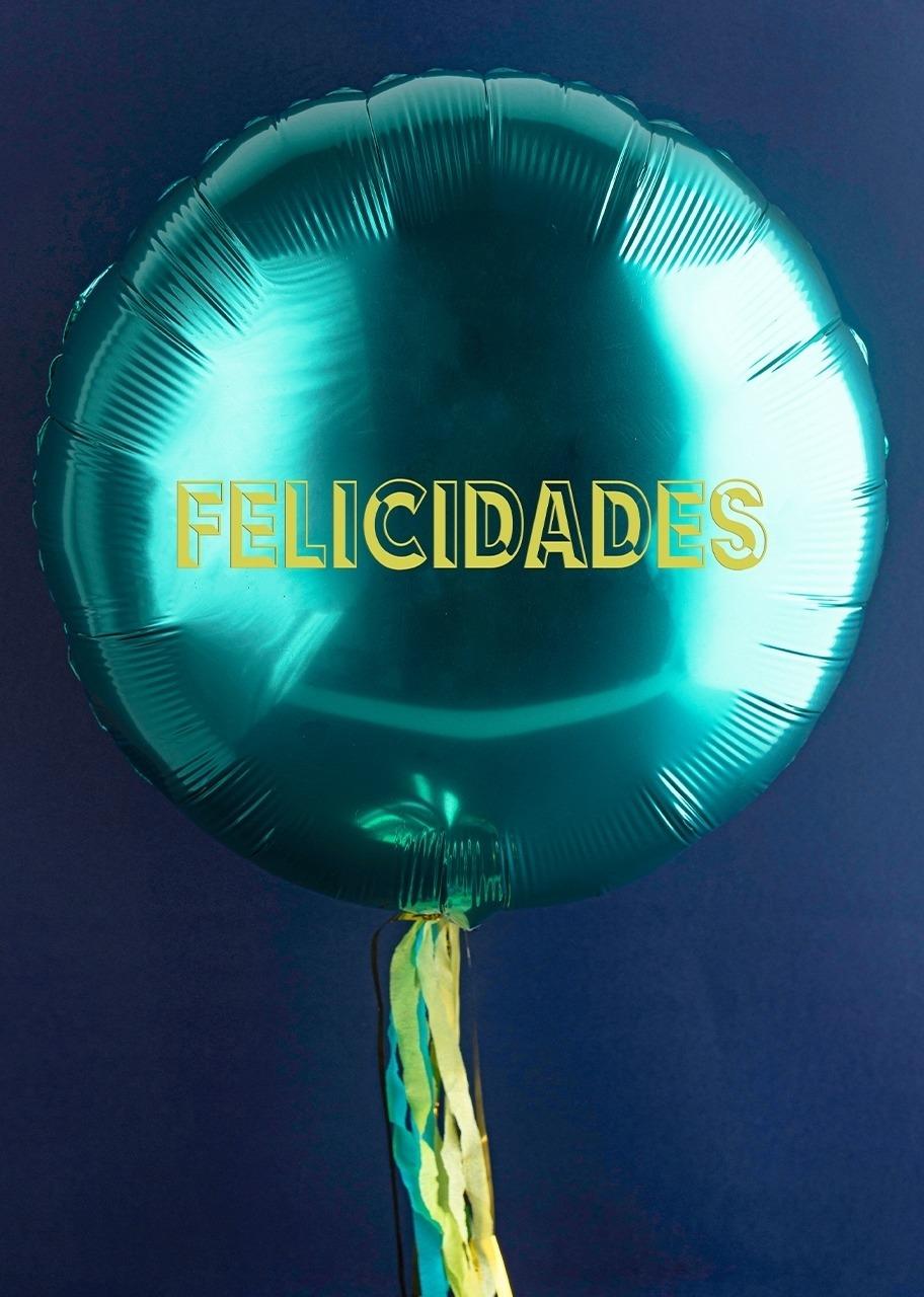 "Imagen para Globo metálico ""Felicidades"" - 1"
