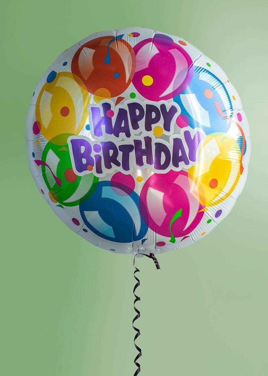 """Imagen para Globo metálico """"Happy Birthday"""" Grande - 1"""