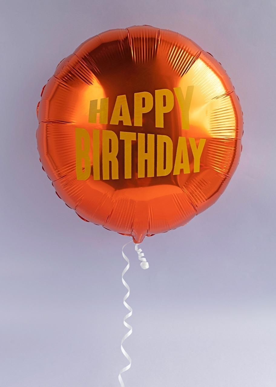 """Imagen para Globo metálico """"Happy Birthday"""" - 1"""