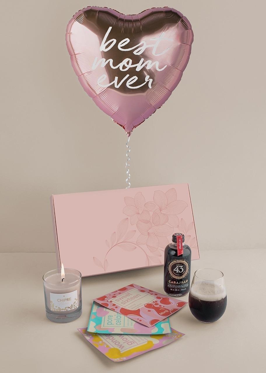 Imagen para Selfcare Kit con Carajillo 43 y Globo Corazón - 1
