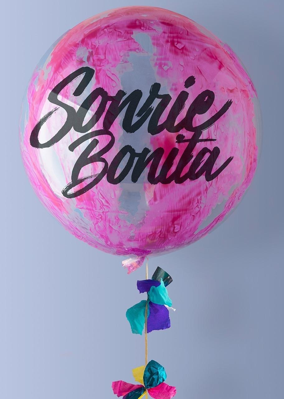 Imagen para Globo Burbuja Sonrie Bonita - 1