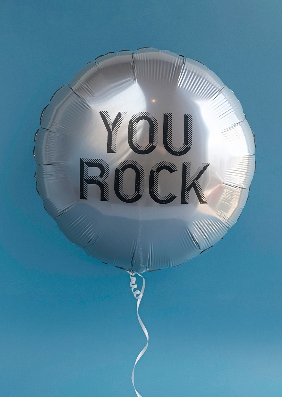"Imagen para Globo metálico ""You Rock"" - 1"
