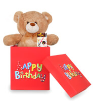 Sorpresa Happy Birthday con Peluche