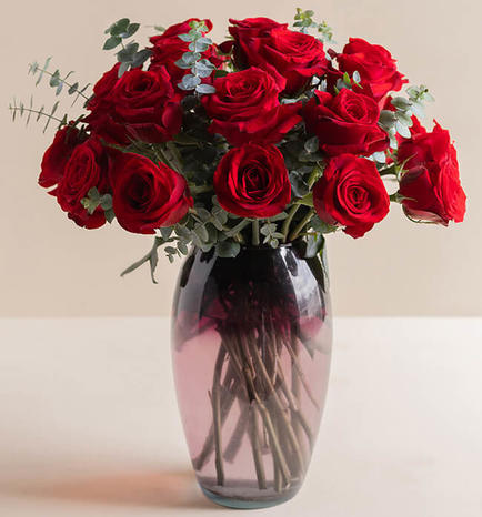 Passion with 24 Red Roses