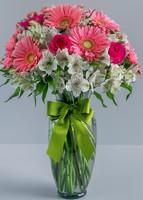 Lindo Día Con Rosas Y Gerberas